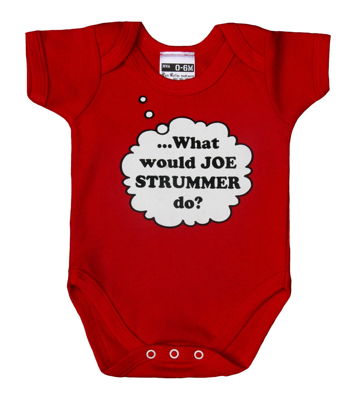 WHAT WOULD JOE STRUMMER DO? BABYGROW