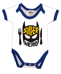 SUPPER HERO BABYGROW
