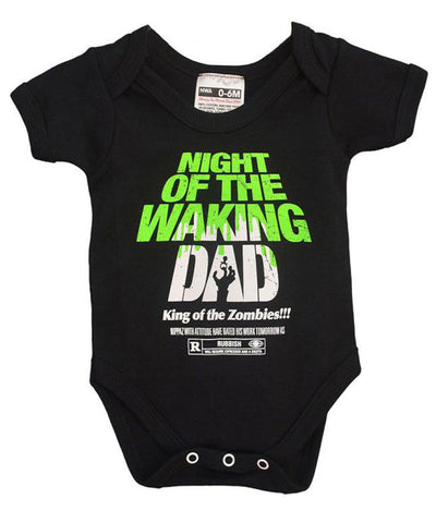 NIGHT OF THE WAKING DAD BABYGROW
