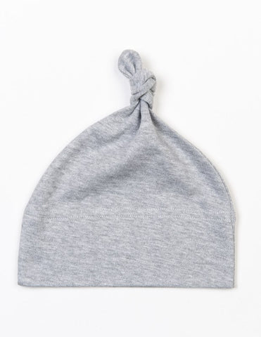 ORGANIC BABY HAT - BLACK / GREY / WHITE