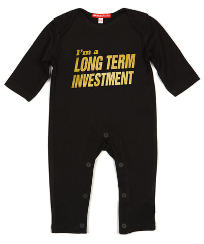 I'M A LONG TERM INVESTMENT- PLAYSUIT