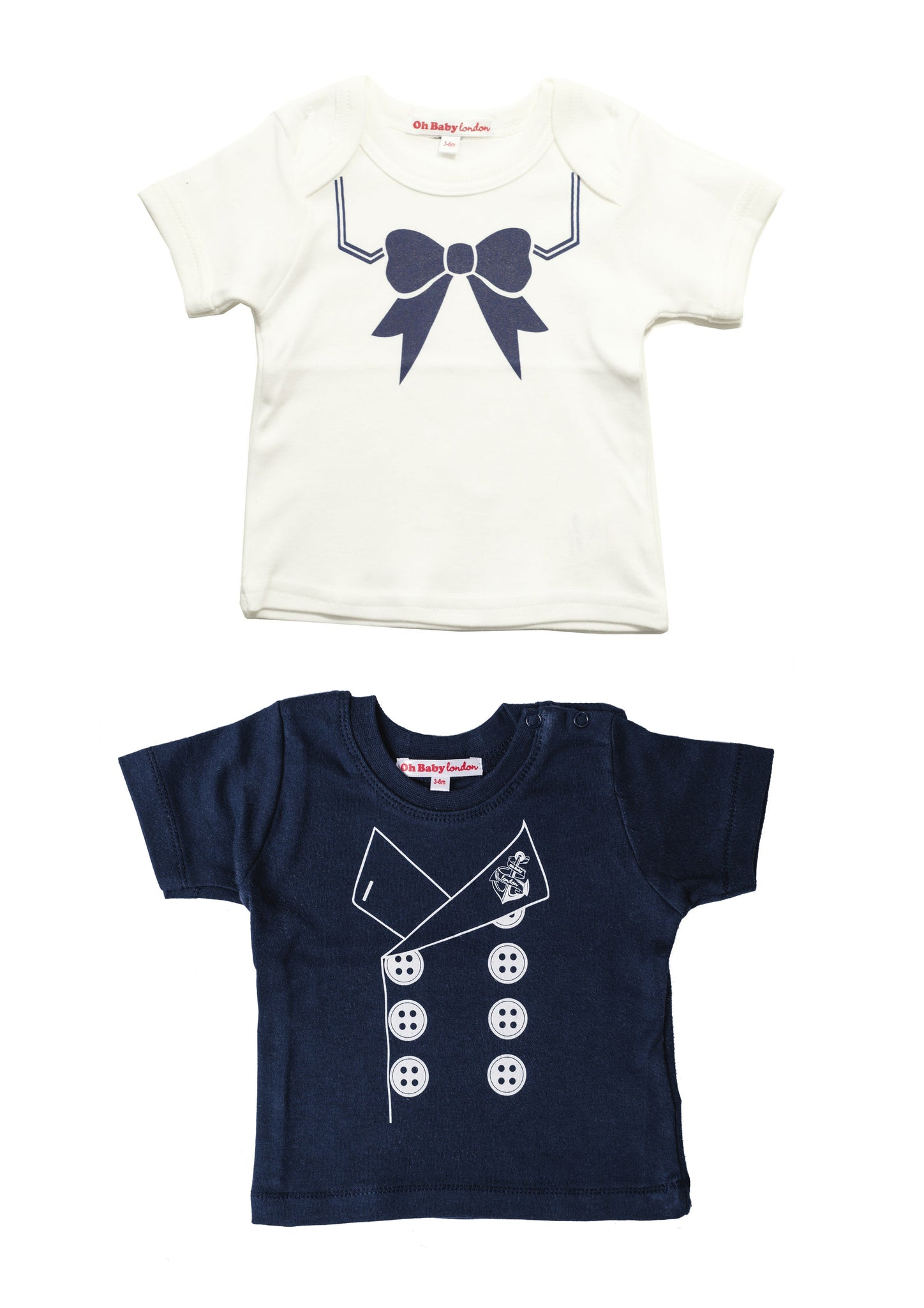 ORGANIC SAILOR SET - TEES