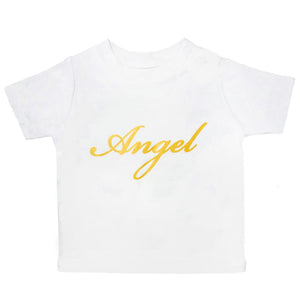 ORGANIC WHITE ANGEL T-SHIRT