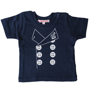 ORGANIC SAILOR JACKET PRINT T-SHIRT
