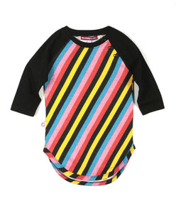 MULTI STRIPE BASEBALL DRESS