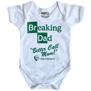 BREAKING DAD BABYGROW