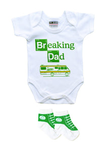 BREAKING DAD BODYSUIT & TRAINER SOCKS