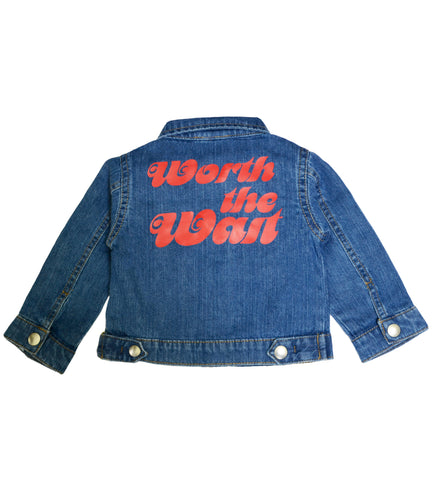 WORTH THE WAIT  - ORGANIC DENIM JACKET