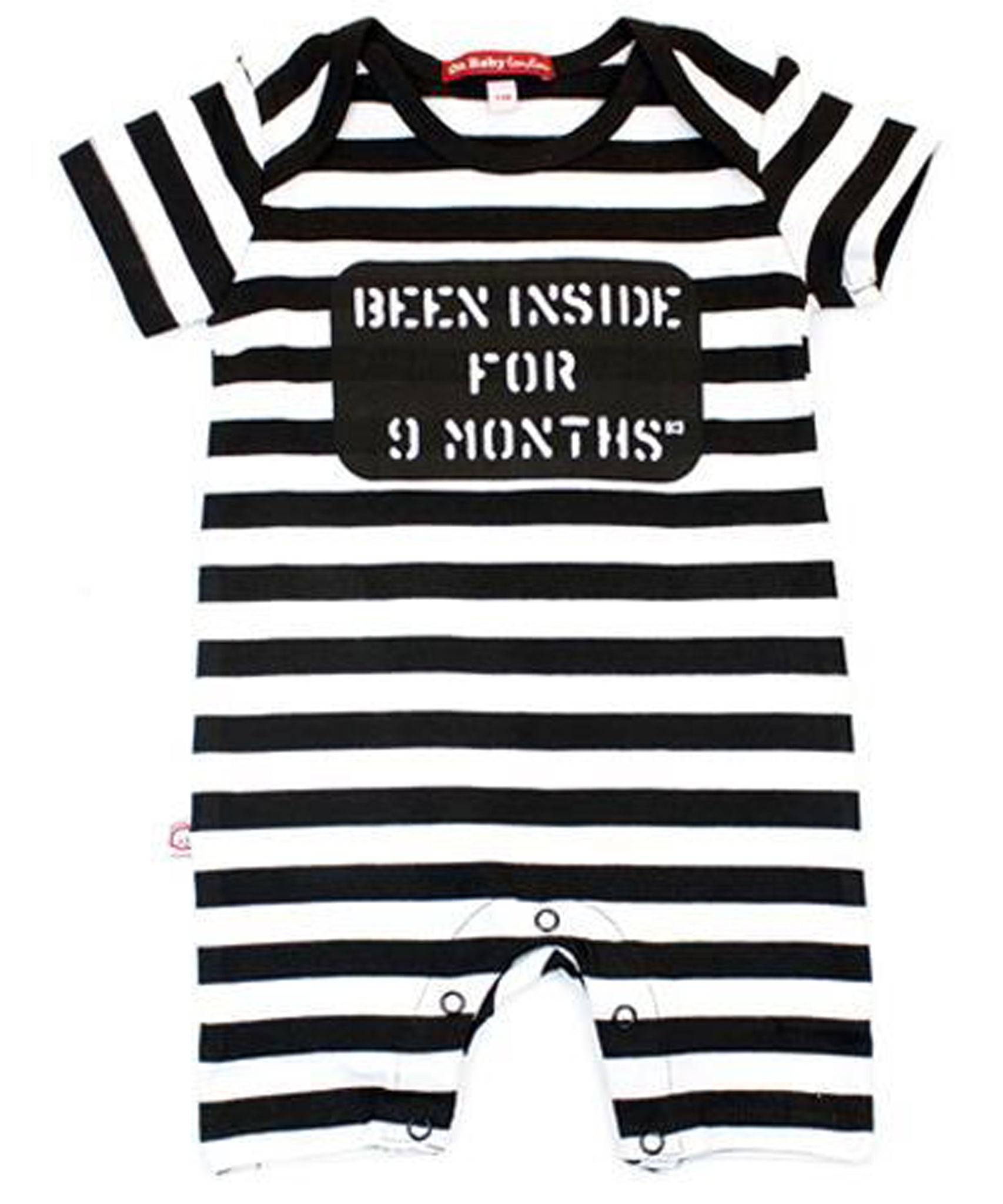 ORGANIC BEEN INSIDE FOR 9 MONTHS SHORT SLEEVE PLAYSUIT