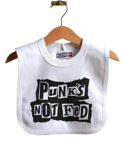 PUNK'S NOT FED BIB