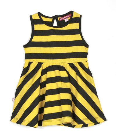 SLEEVELESS BUMBLE SKATER DRESS