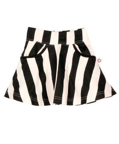 VERTICAL STRIPE SKIRT