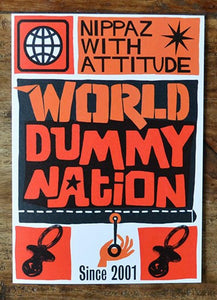 WORLD DUMMY NATION GREETING CARD