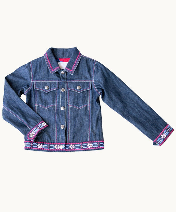 Reflections Embroidered Jeans Jacket