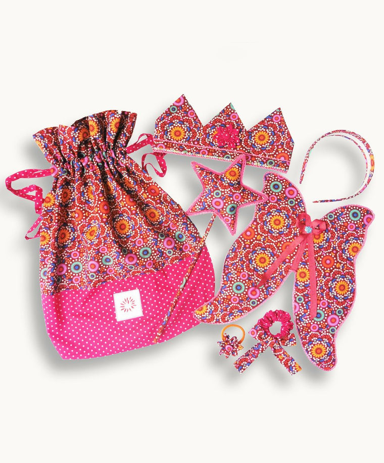 Diwali Dance Butterfly Princess Set