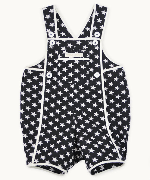 Black Star Cotton Playsuit