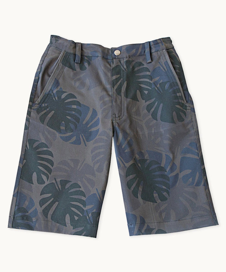 Night Jungle Twill Shorts