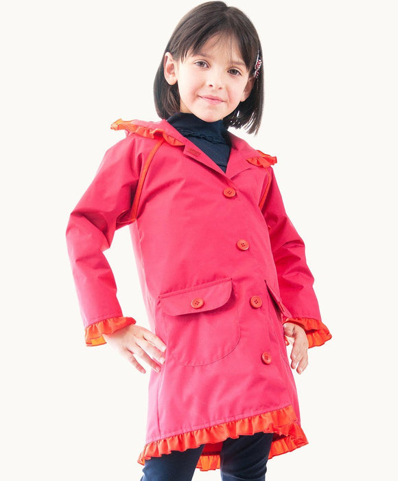 Strawberry Rain Coat