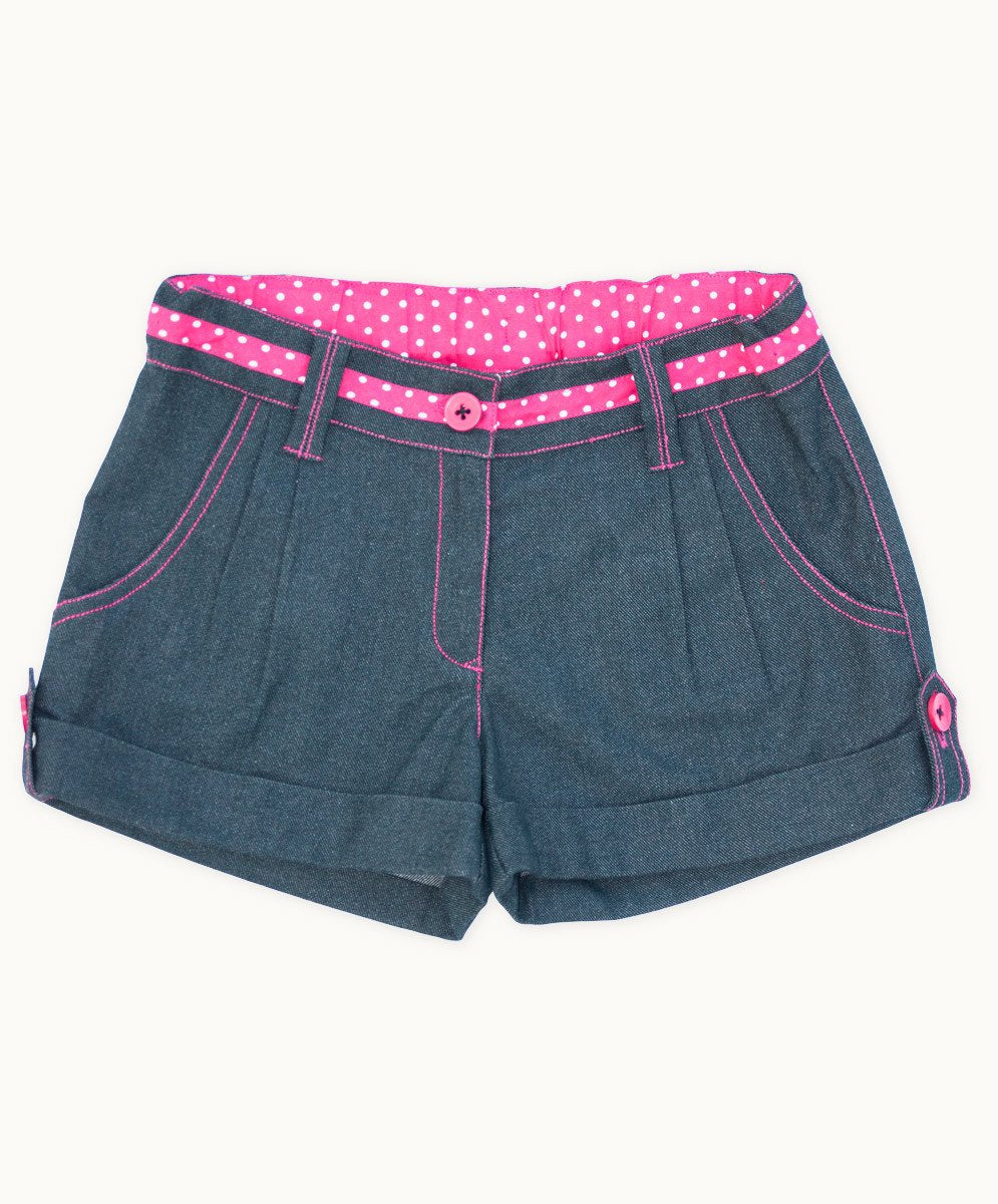 Handy Charcoal Denim Shorts