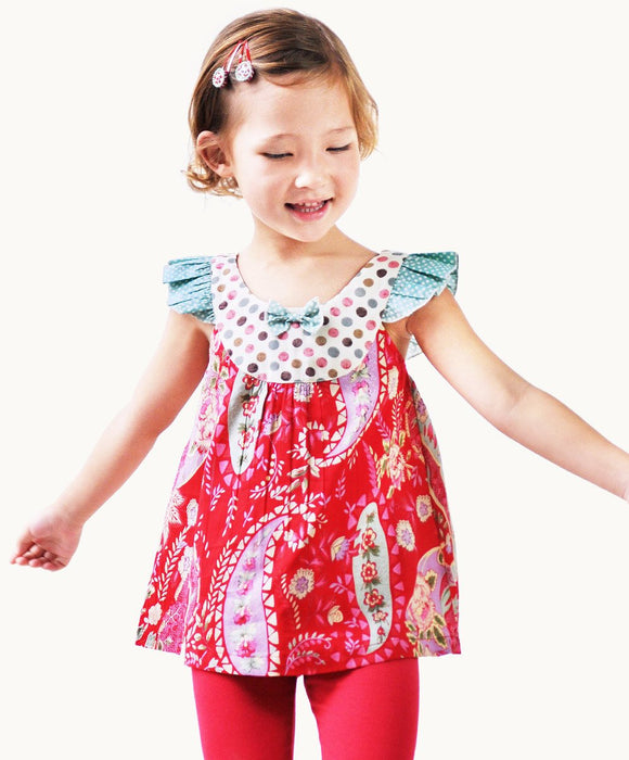 Fun Bella Summer Top - Fair Trade Clothing | Ethical Clothing | Visible Clothing