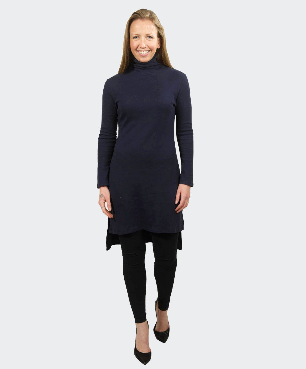 Polo Neck Tunic