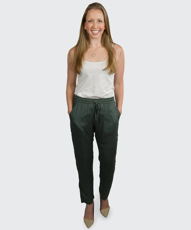 Olive Green Trouser