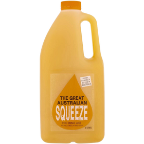 The Great Australian Squeeze Orange Juice 2L
