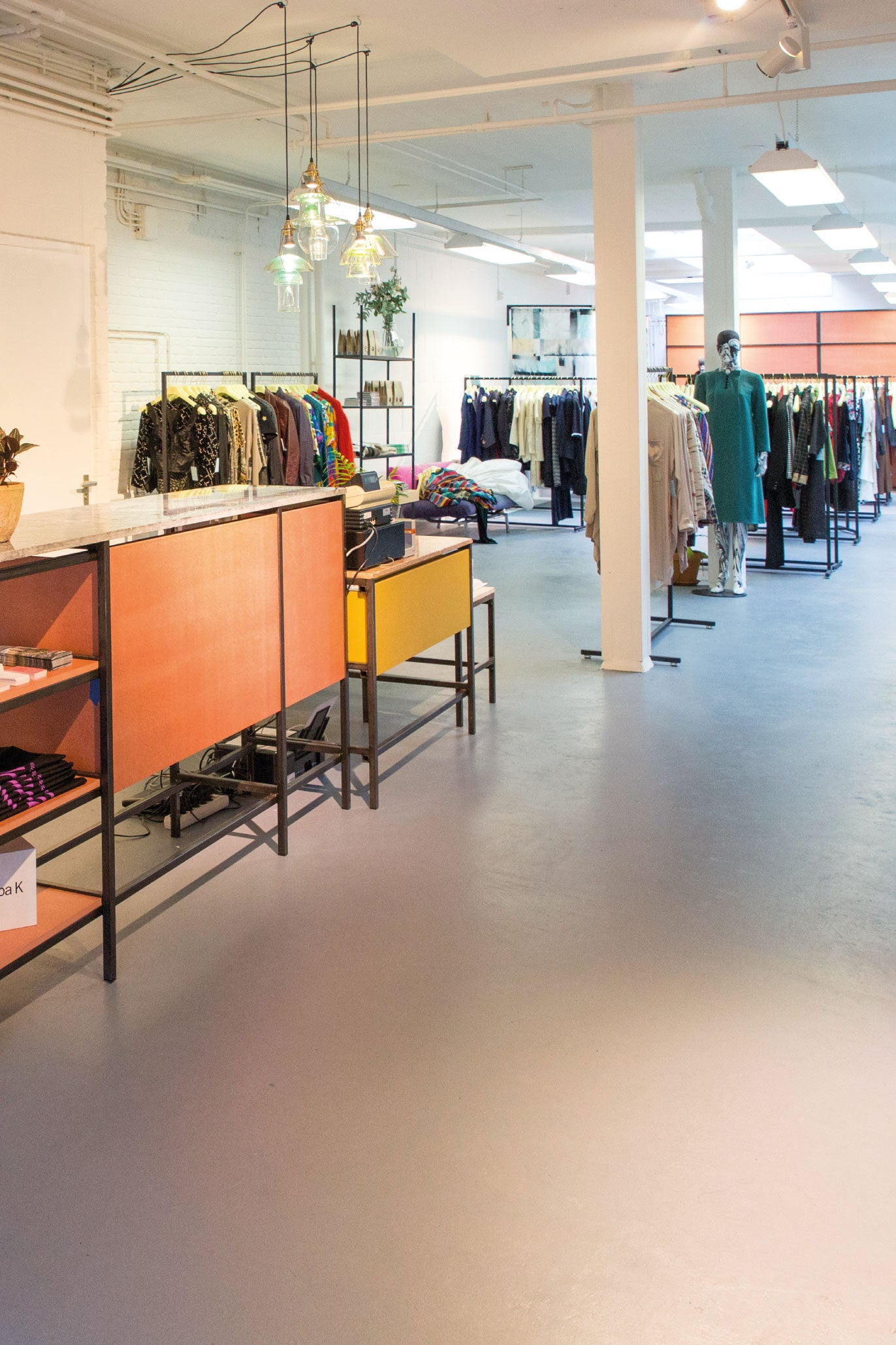 Lena Library store on westerstraat in Amsterdam
