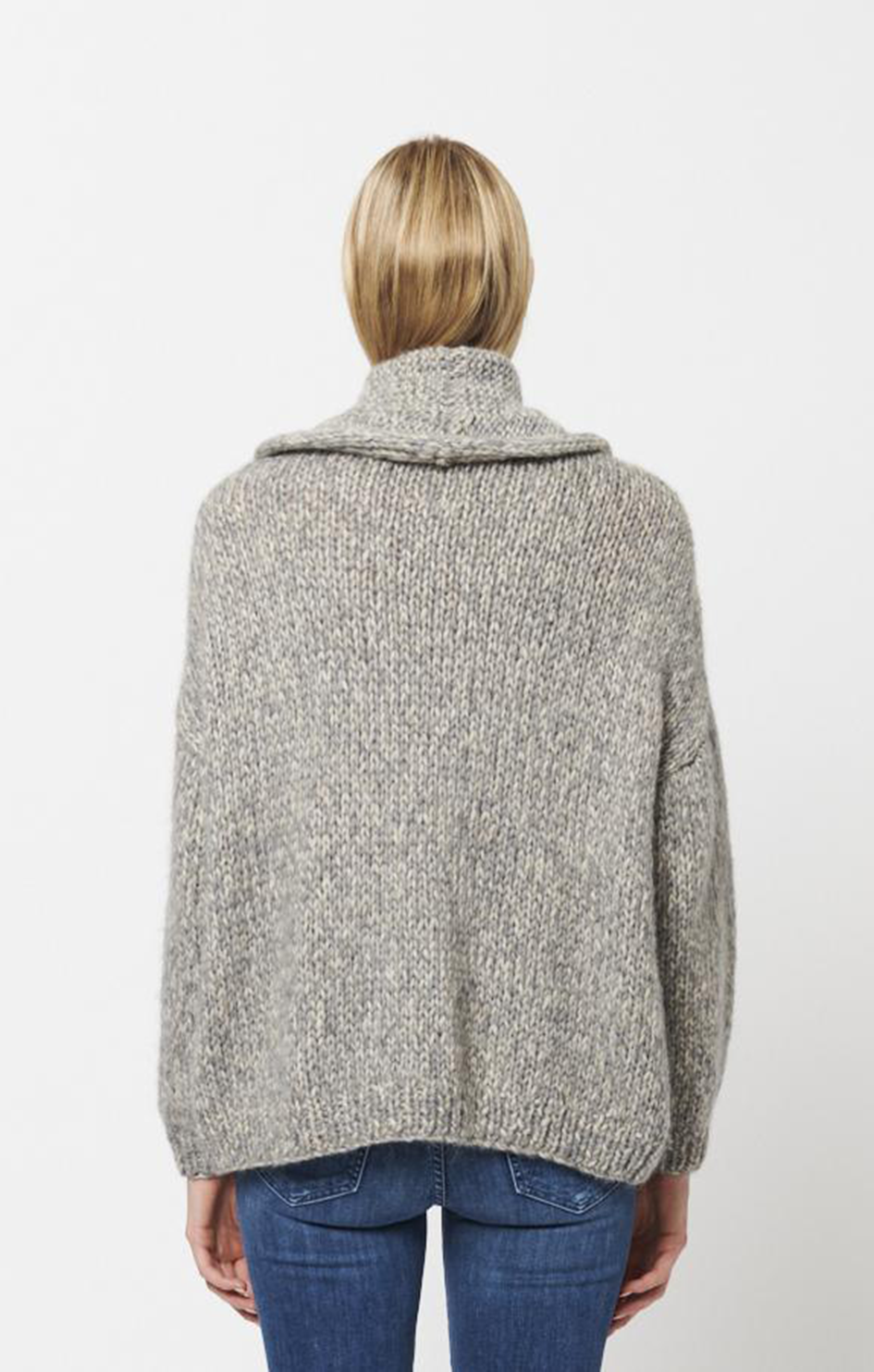Olga Knit Sweater - Wheatfield