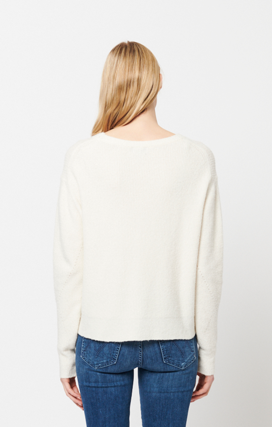 Maya Sweater - Chalk