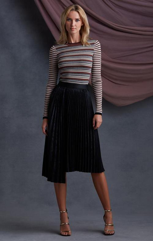 Rothchild Pleated Skirt
