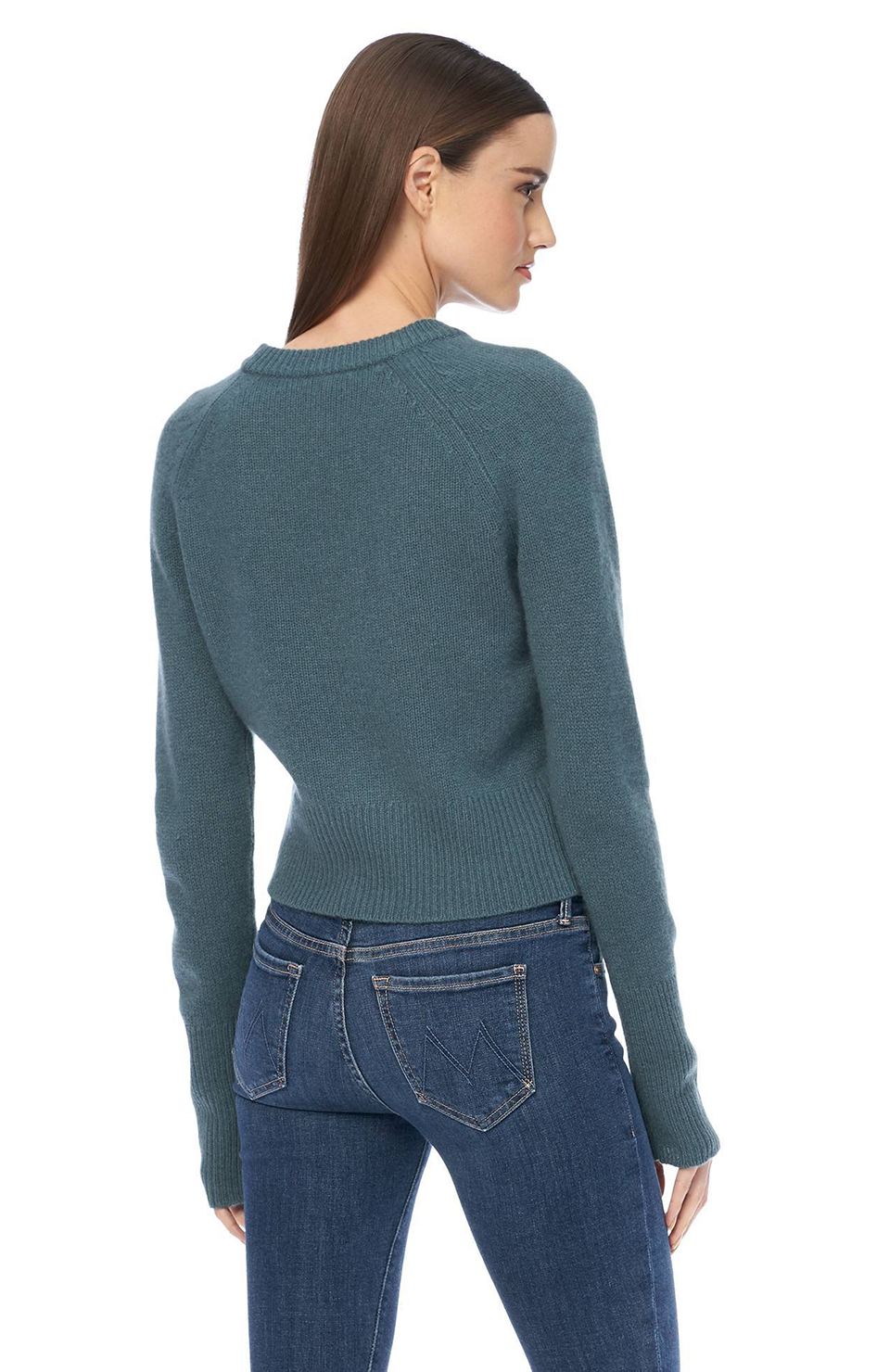 Jessika Cashmere Pullover - Teal