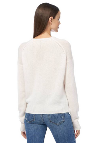 360 Cashmere Cassian Sweater Chalk