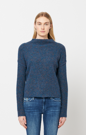 Sienna Sweater - Peacock Feather