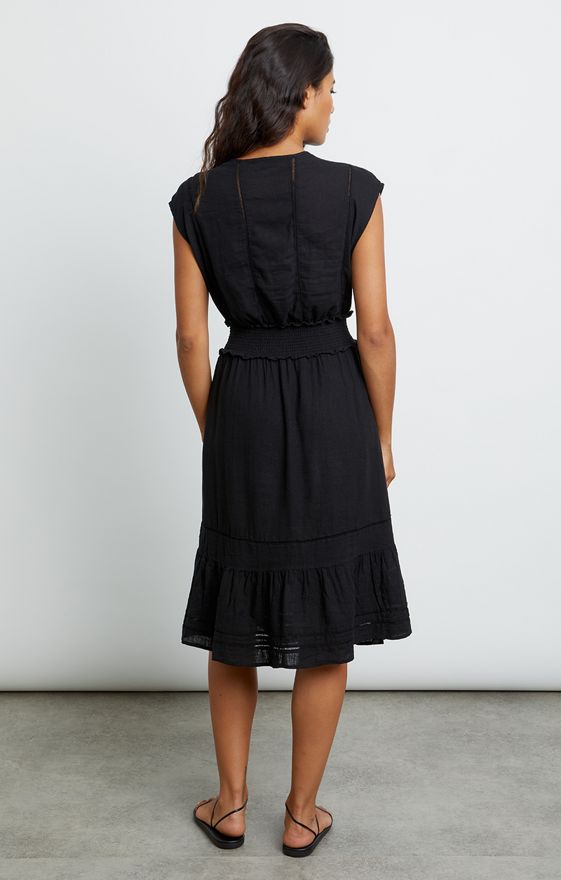 Rails Ashlyn Dress - Black Lace