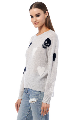 360 Cashmere Amarah Sweater - Dove Multi