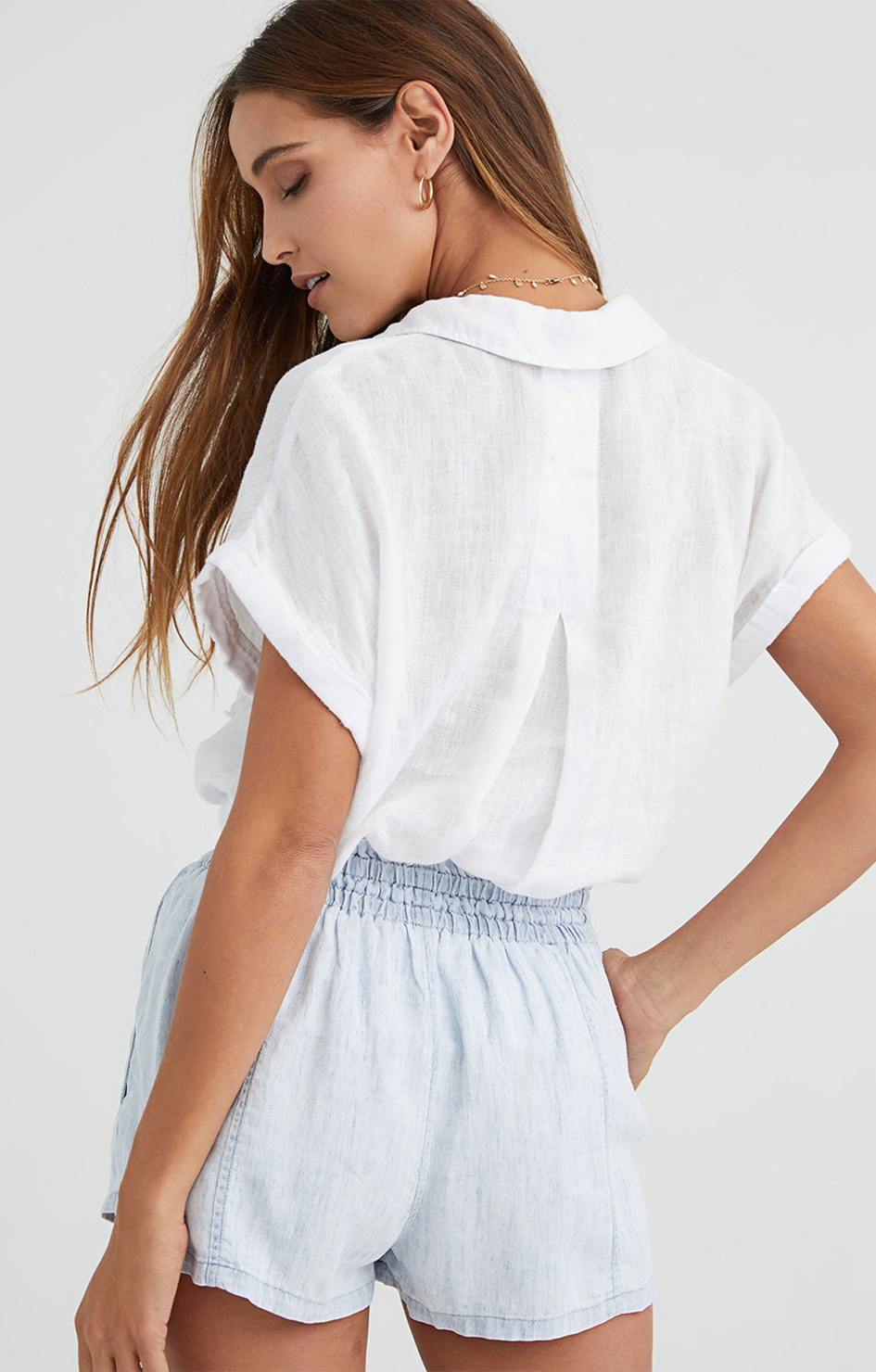 Pocket Button Down - White