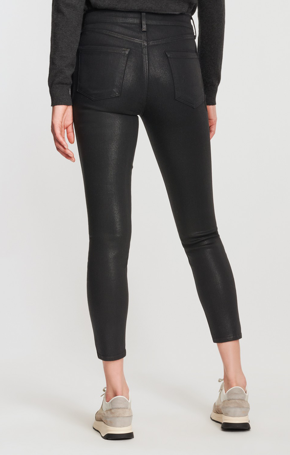 Alana High Rise Crop Skinny Jeans - Fearful