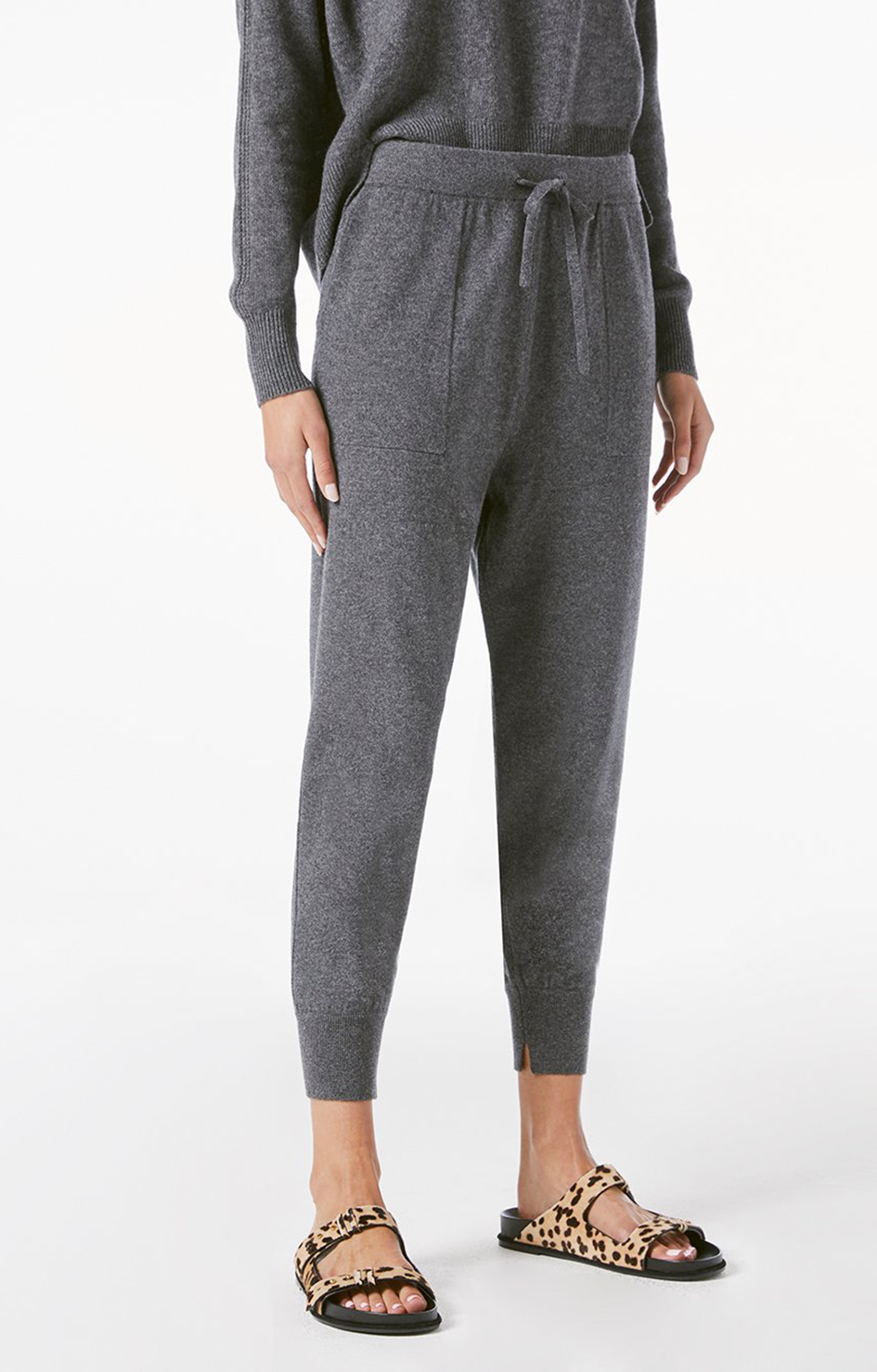 Frame Lounge Jogger Dark Gris Heather