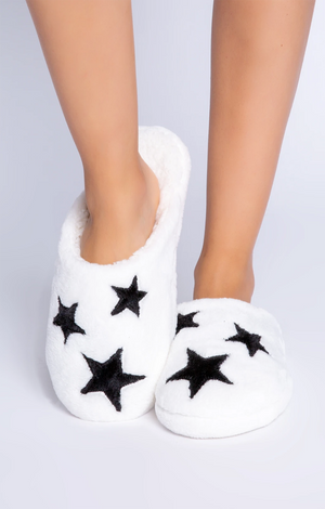 Wishin' On A Star Slippers - Ivory