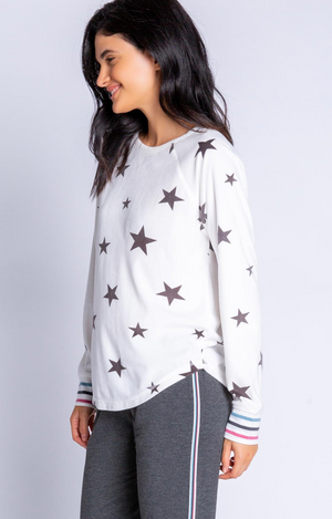 Wishin' On A Star L/S Top - Ivory