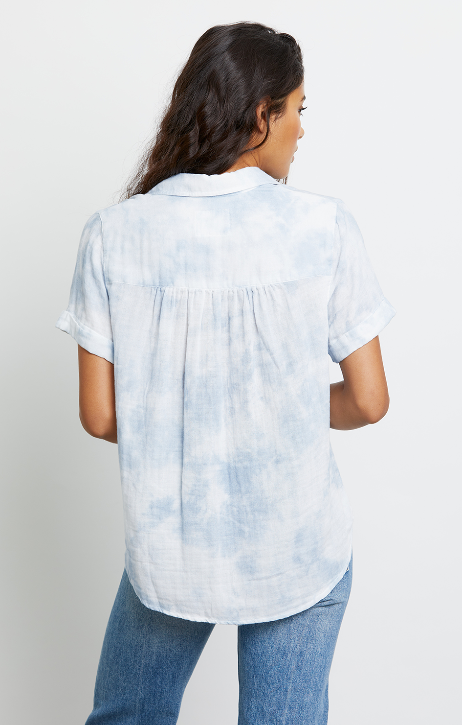 Savannah Top - Cascade Tie Dye