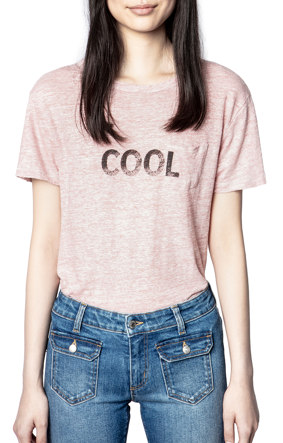 Amber Lin Word T-Shirt - Orchidee