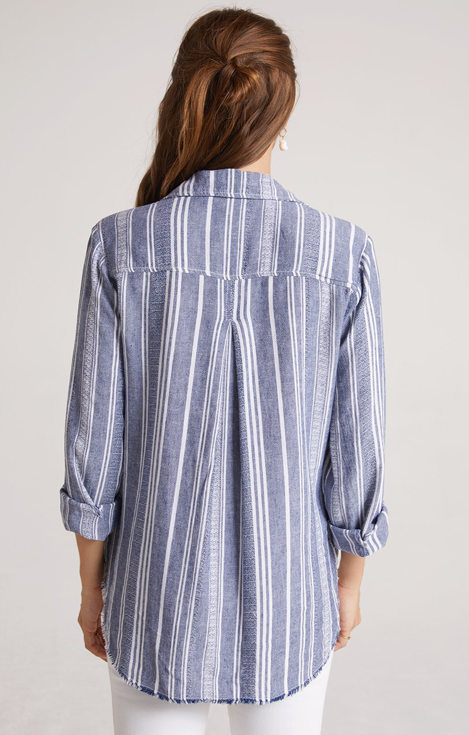 Frayed Classic Button Down