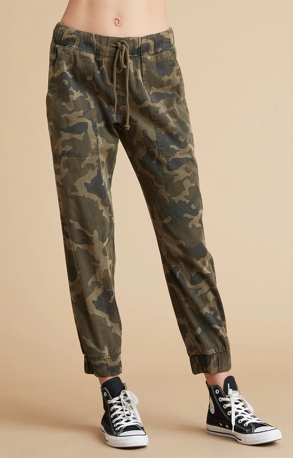 Pocket Jogger - Army Olive Camo