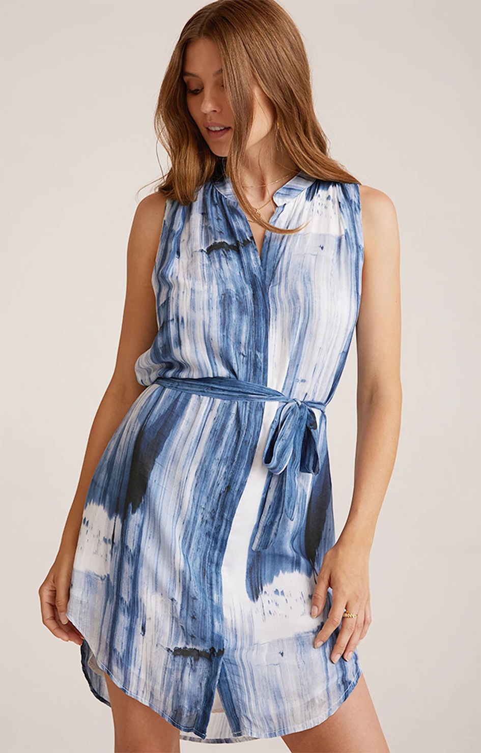 Bella Dahl Pleat Front Dress