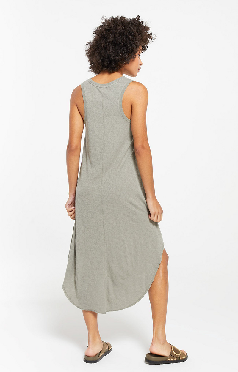 Reverie Dress - Dusty Sage