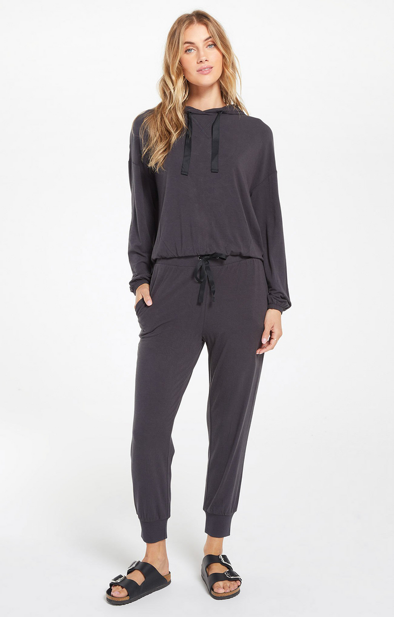 Z Supply - Laine Whisper Jersey Jogger - Onyx
