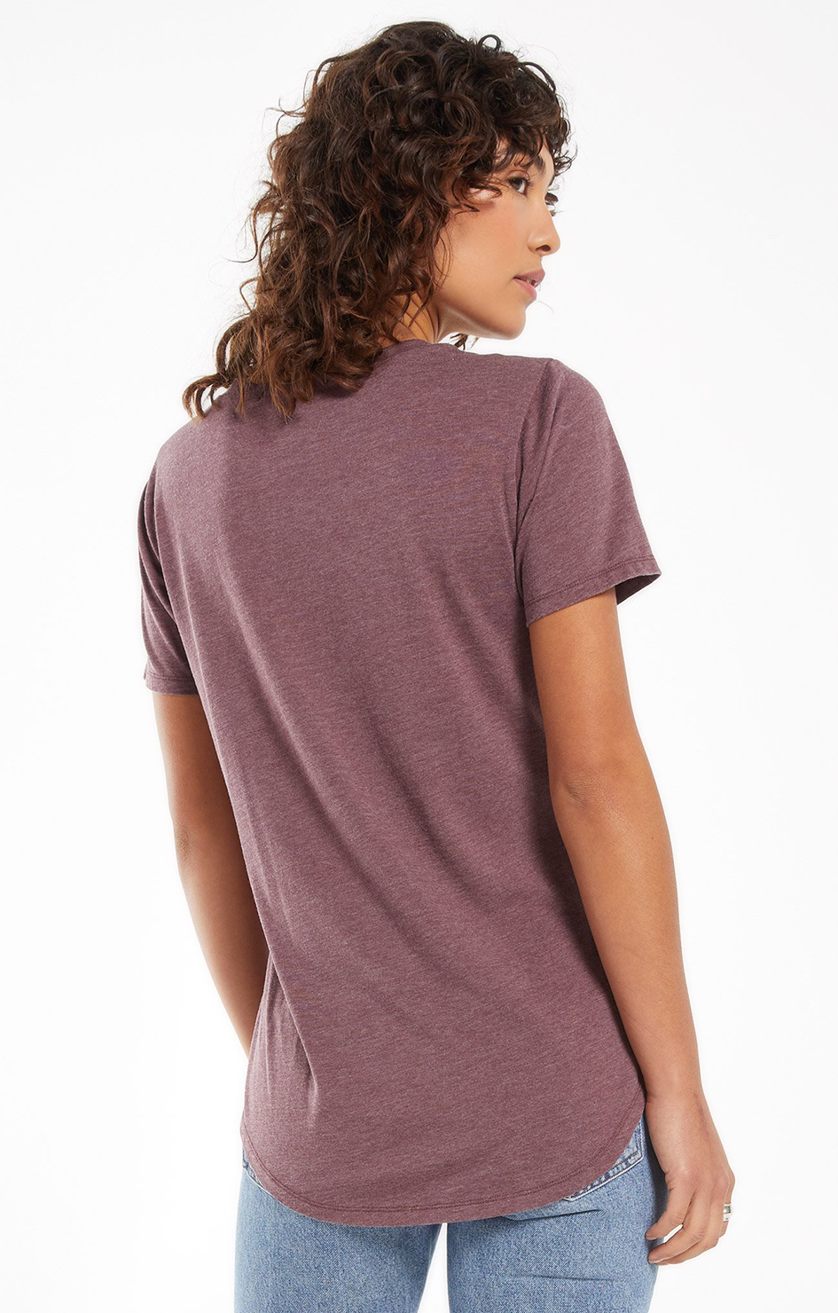 Z Supply - Pocket tee- Merlot