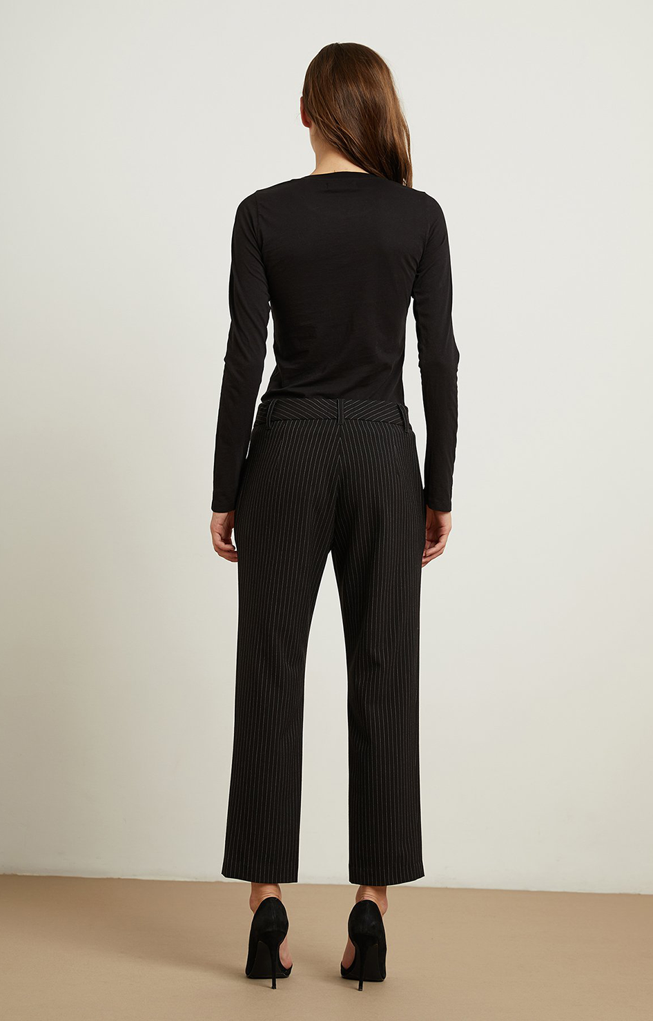 Brittany Pinstripe Pant